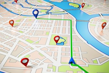 Location on the map